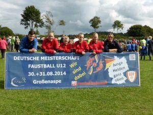 Deutsche Meisterschaft U12 in Großenaspe