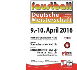 Plakat DM w U16 2016 Halle_900x813